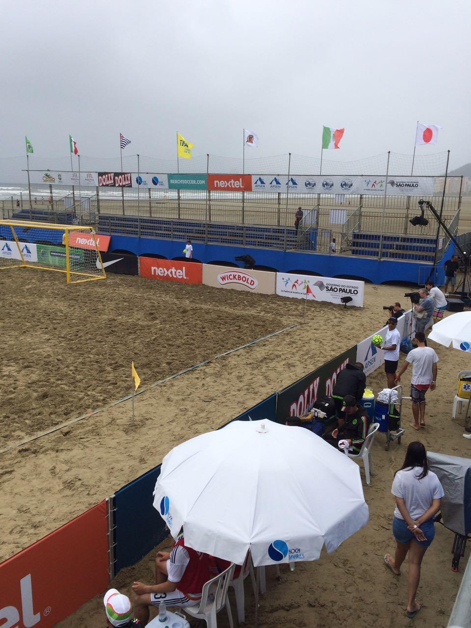 Mundialito de Beach Soccer Brasil - 21 a 23 de Outubro